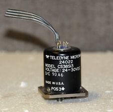 TELEDYNE RF Switch 24022 MODEL CS38S13c VOLTAGE 24-30VDC