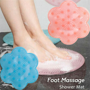Lazy Bath Massage Pad Massage der Füße Matte zur Dusche Werkzeug zur Reinigung