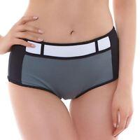Freya Swimwear Bondi Bikini Short/Bottoms Black/Grey 3966