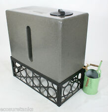 Ecosure 350 Litre Water Butt Black Stand - STAND ONLY