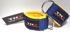 TNT 'straat' Heavy Duty Ankle Strap for Cable Attachment 1 Pair - Gym Fitness