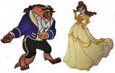 Disney's BEAUTY & The BEAST Set of 2 Embroidered Patches