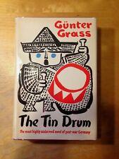 Gunter GRASS -- The Tin Drum -- 1962 1st US Edition -- Nobel Prize Winner HC/DJ