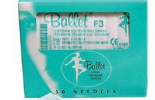 Ballet Electrolysis Needles F3 -50PK EXP 03/2021