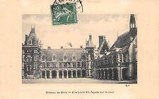 BF4847 chateau de blois aile lousi facade sur la cour france