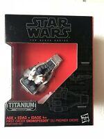 Star Wars The Black Series First Order Snow Speeder Titanium Series #11