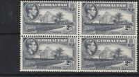 BC623) Gibraltar 1940 KGVI 2d Grey perf 13½ block of 4 MUH. CV for MH £36