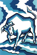 JACQUELINE DITT - Stier Sternzeichen (weitere i.Shop) Artcard Bild Bilder Karte