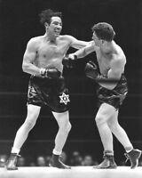 1939 Heavyweight Fight MAX BAER vs LOU NOVA Glossy 8x10 Boxing Photo Print