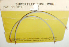 1 Pair 1960's COX SUPERFLEX FUSE WIRES #3113 Vintage slot car Controller itemNOS