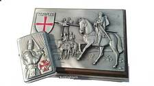 Zippo ® templiers II Crusader chevaliers en relief Box Limited Edition 2003685 New Ovp