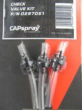 Titan CapSpray HVLP Check Valve Kit 3 Pack 0297051 Maxum II Gun Check Valves