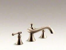 """Kohler Revival Tub faucet trim with 9-5/8"""" spout K-T16119-4A-BV"""