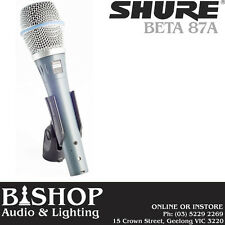 Shure Beta 87A Premium Handheld Vocal Microphone