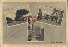 CARTOLINA CASARANO (LECCE) VIAGGIATA 16/01/1942 piazza Diaz chiesa madre