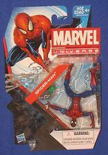"""Marvel Universe Ultimate Spider-Man Peter Parker 4"""" Figure 2013 Hasbro Moc 1/18"""