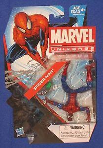 Marvel Ultimate Spider-Man Peter Parker 4 Action Figure 2013 Hasbro Universe MOC