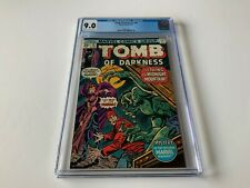 TOMB OF DARKNESS 18 CGC 9.0 THING ON MIDNIGHT MOUNTAIN MARVEL COMICS 1976