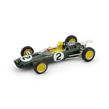 LOTUS 25 T.TAYLOR 1963 N.2 RETIRED BELGIO GP + PILOTA 1:43 Brumm Formula 1
