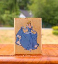 Walt Disney Cinderella Princess Wood Mounted Rubber Stamp All Night Media
