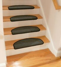 Affordable Bullnose Carpet Stair Treads Non Skid Strip, Set of 1,2,3,7 or 13 New