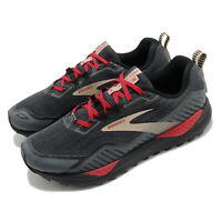 Brooks Cascadia 15 GTX Black Red Men GORE-TEX Trail Running Shoes 1103411D-075