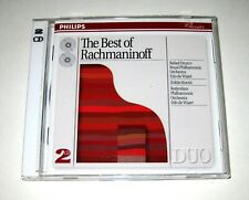 Serge Rachmaninoff - The Best of Rachmaninoff (2 CDs, 1993, Philips) Remastered