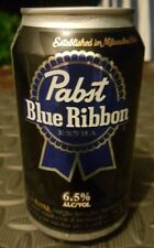 Pabst Blue Ribbon Extra 6.5 % Beer Can empty bottom opened