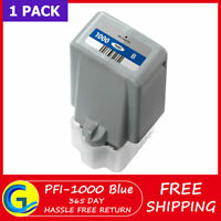 PFI-1000 Blue ink Cartridge Replacement for Canon imagePROGRAF PRO-1000