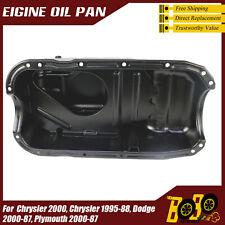 ,Oil Pan Fits 1987-2000 Dodge Grand Caravan 1988-90 Chrysler New Yorker V6 3.0L
