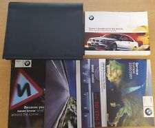 BMW 3 SERIES E46 COUPE  HANDBOOK OWNERS MANUAL WALLET 1998-2001 PACK A-10