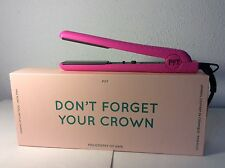 "NIB-Authentic PYT Ceramic Flat Iron Hair Straightener 1.25"" PINK"