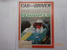 Collectible Automobile Magazine, Car & Driver,. August 1965
