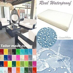 TAILOR MADE COVER*Patio Bench Cushion Waterproof Outdoor Swing Sofa Daybed Dw20
