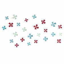 Umbra WALLFLOWER Assorted Colors 25 Flower wall decor flower/5 size 470042-022