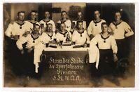Ansichtskarte/Fotokarte - Kavalier-Stube der Sperrfahrzeug Division 5 K IV 1912