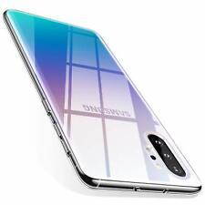 Samsung Galaxy Note 10 Plus Hülle Silikon Schutzhülle Slim Fit Case Transparent