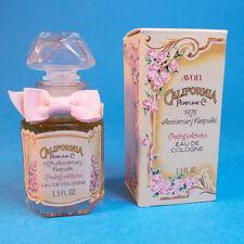 Vtg 1978 Avon California Perfume Co Cologne 1.5oz Anniversary Keepsake w Box Nos
