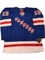 Alexis Lafreniere Brand New Men's Blue New York Rangers Jersey Size 52