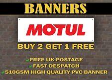 LARGE 2 METRE MOTUL Banner for Garage / Shop / Promotional Item, Oil Castrol