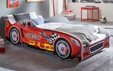 Autobett SPEEDY Rennfahrerbett Kinderbett Spielbett Bett Rot