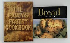 The Pampas Pastry Cookbook + Bread The Universal Loaf Hardcover Books Free Post