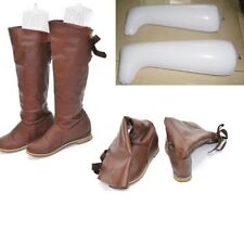 1 Pair Plastic Inflatable Long Boot Shoes Stand Holder Support Shaper Stretcher
