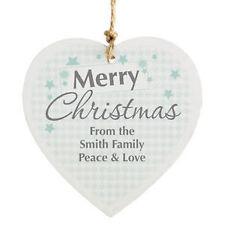 Christmas Tree Snowflake Ornaments