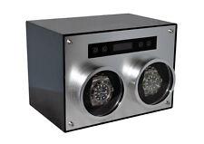 D700 Double Metal Carbon Fiber Automatic Watch Winder Japanese Motors by PANGAEA