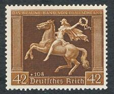 GERMANY B119 MINT NH, HORSE, WOMAN