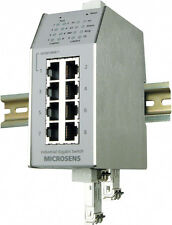 Microsens Industrial Fast Ethernet Switch,10 porte,POE (Art.01-MS650869PM-48-V2)