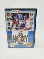 NHLPA Hockey '93 (Sega Genesis, 1992) Complete CIB Authentic Tested
