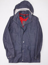 NWT $3860 KITON NAPOLI Coated Linen Parka w/ Cashmere-Silk Liner 50/40 M Coat