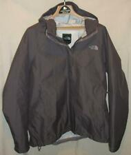 The North Face Rain Jacket XXL 2XL Womens Dry Vent Gray Hooded Zip Up Mint